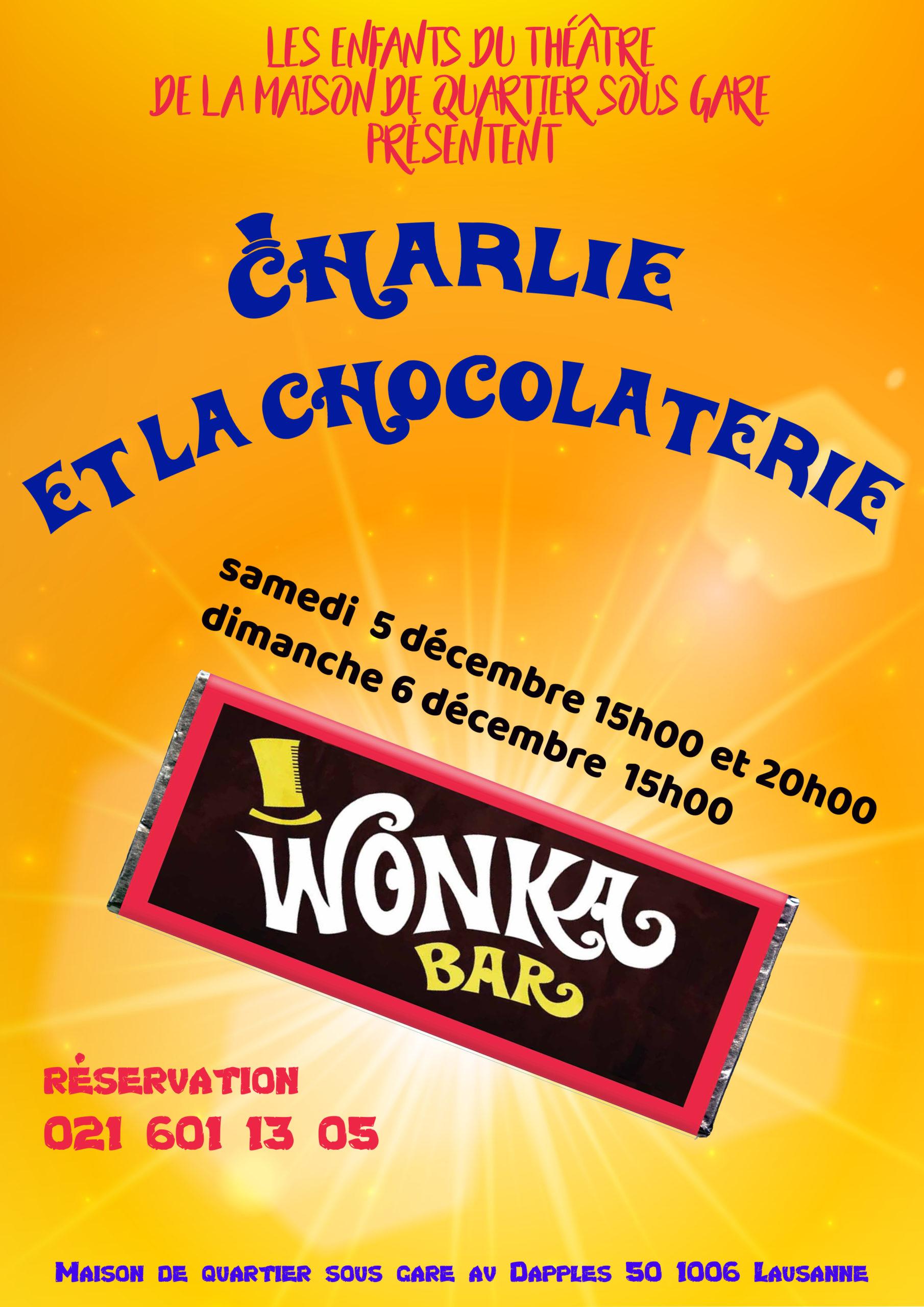 <h4>Charlie et la chocolaterie (annulé)<h4>