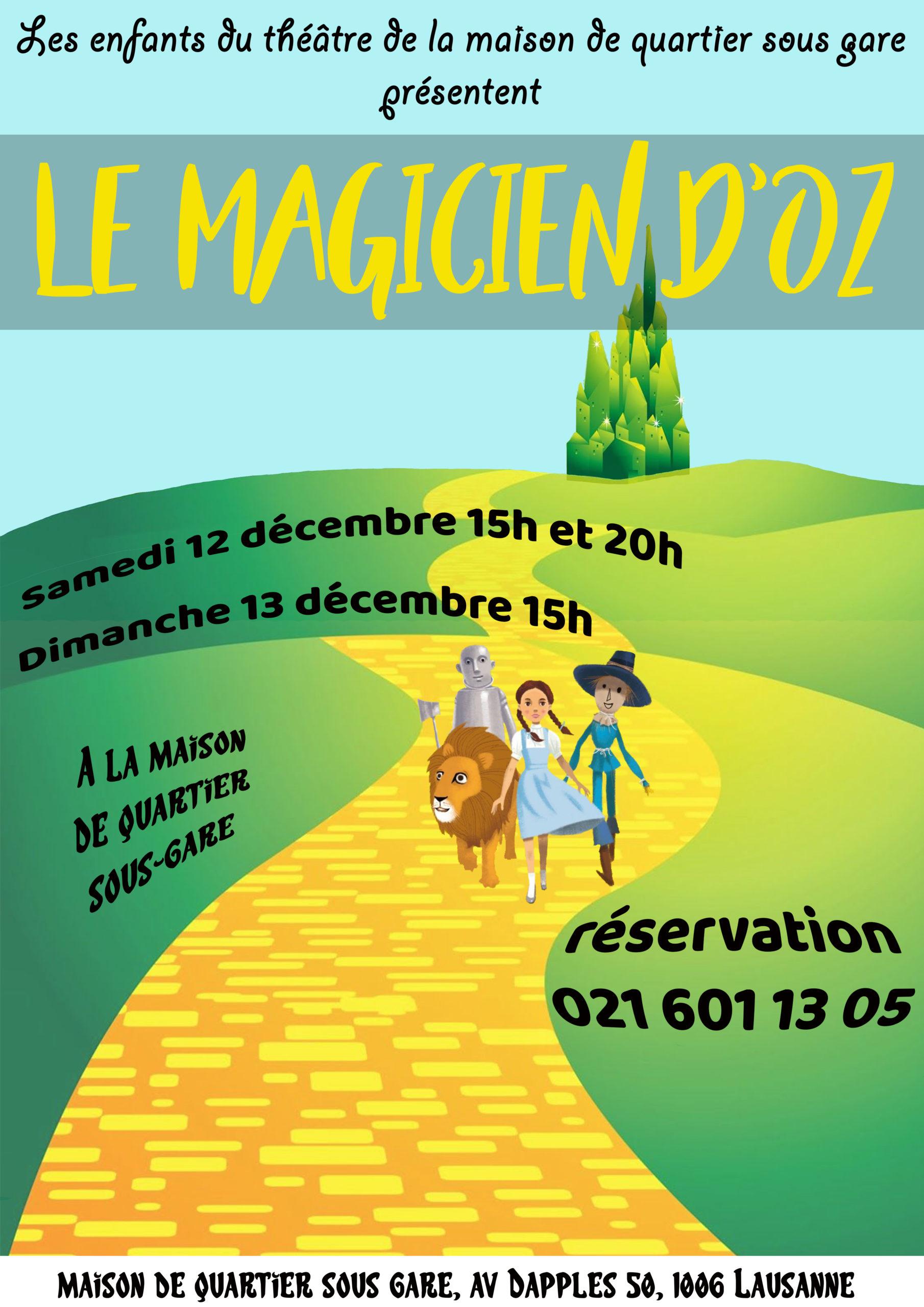 <h4>Le magicien d'Oz (annulé)<h4>
