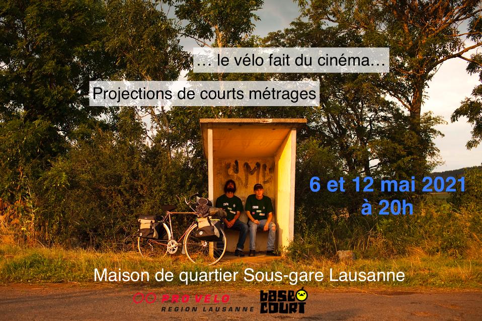 ...Le vélo fait du cinéma...<br>Projections de courts métrages