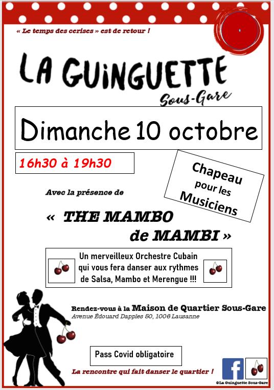 La Guinguette Sous-Gare (octobre 2021)